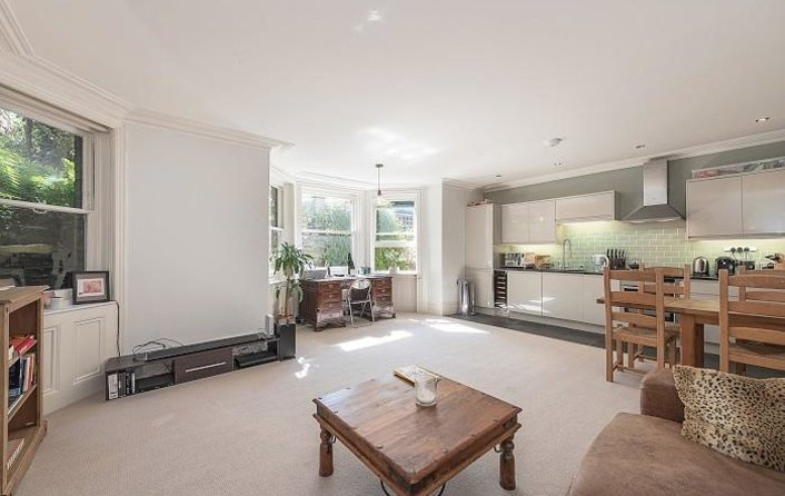 Flat for sale in Prince Arthur Road, Hampstead Village