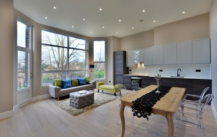 Flat for sale in Maresfield Gardens, Hampstead